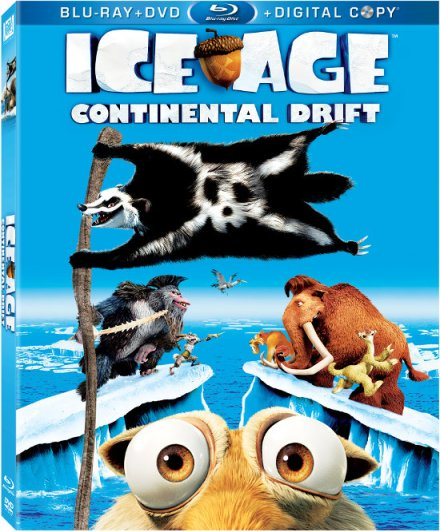 Ice Age 4 Blu Cover