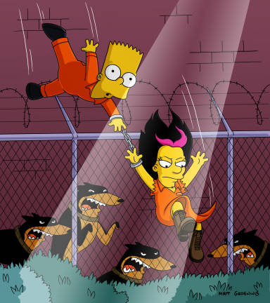 Simpson Wandering Juvie