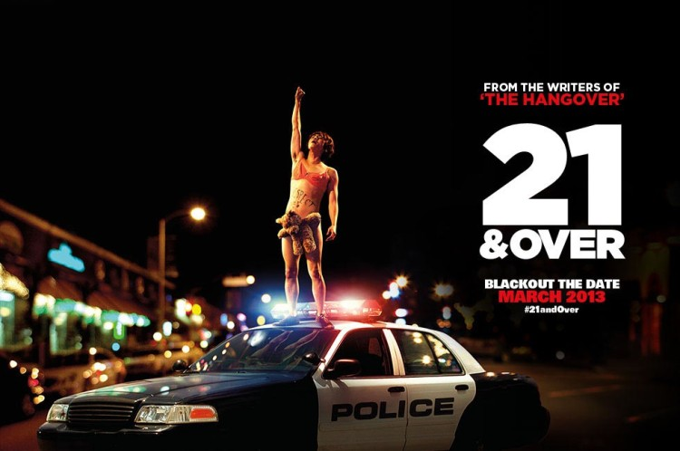 21 and Over Banner